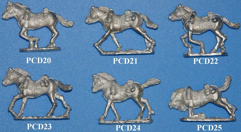 Файл:Prussian Dragoons Charging Horses left view.JPG